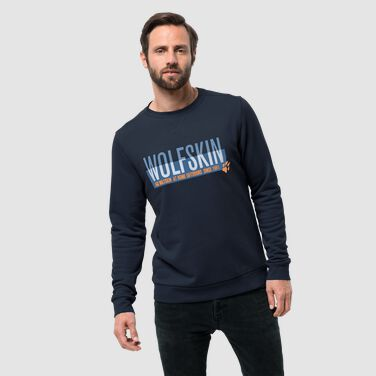 SLOGAN SWEATSHIRT M