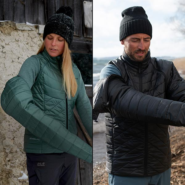 Your very own protection against the cold - Our 3-in-1 jackets provide complete flexibility
